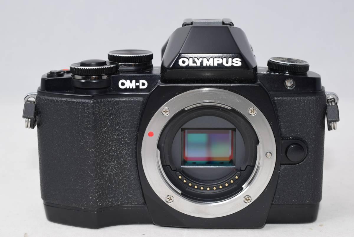 ☆美品☆OLYMPUS オリンパス OM-D E-M10 ブラック ☆ミラーレス 一眼 カメラ ボディ