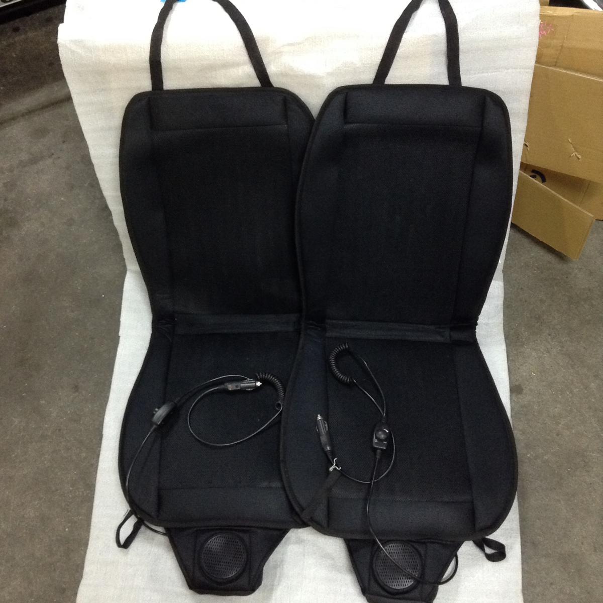エアー クール カーシート 車用シートクーラー 2個セット