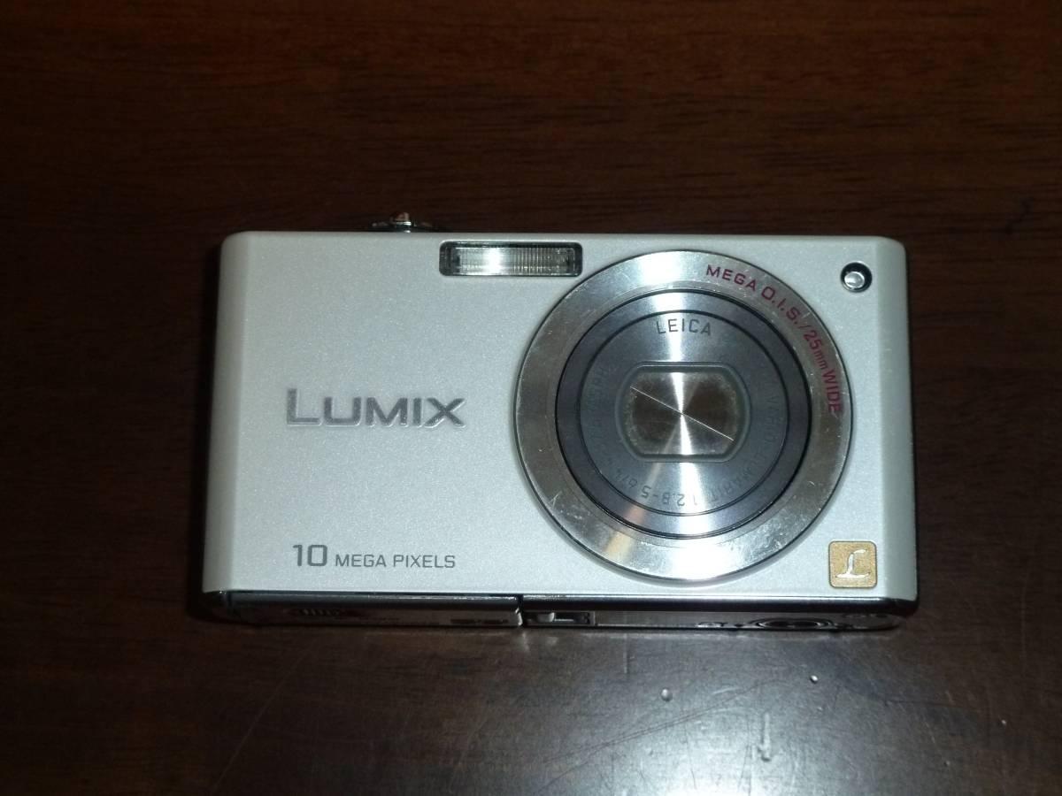 動作保証!送料無料!LUMIX DMC-FX35 1010万画素 光学4倍 ①