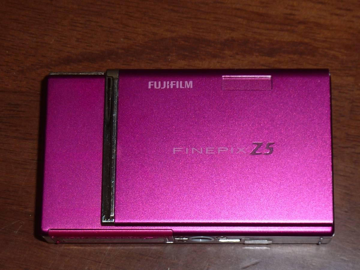 動作保証!送料無料!FINEPIX Z5fd 630万画素 光学3倍 ①