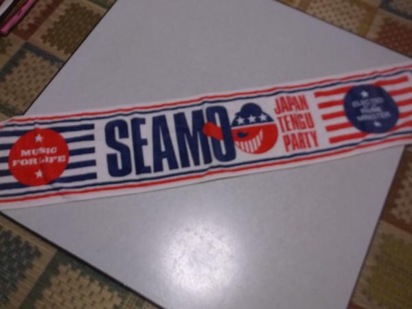 ▽ seamo シーモ ★ JAPAN TENG PARTY 【 マフラータオル 】