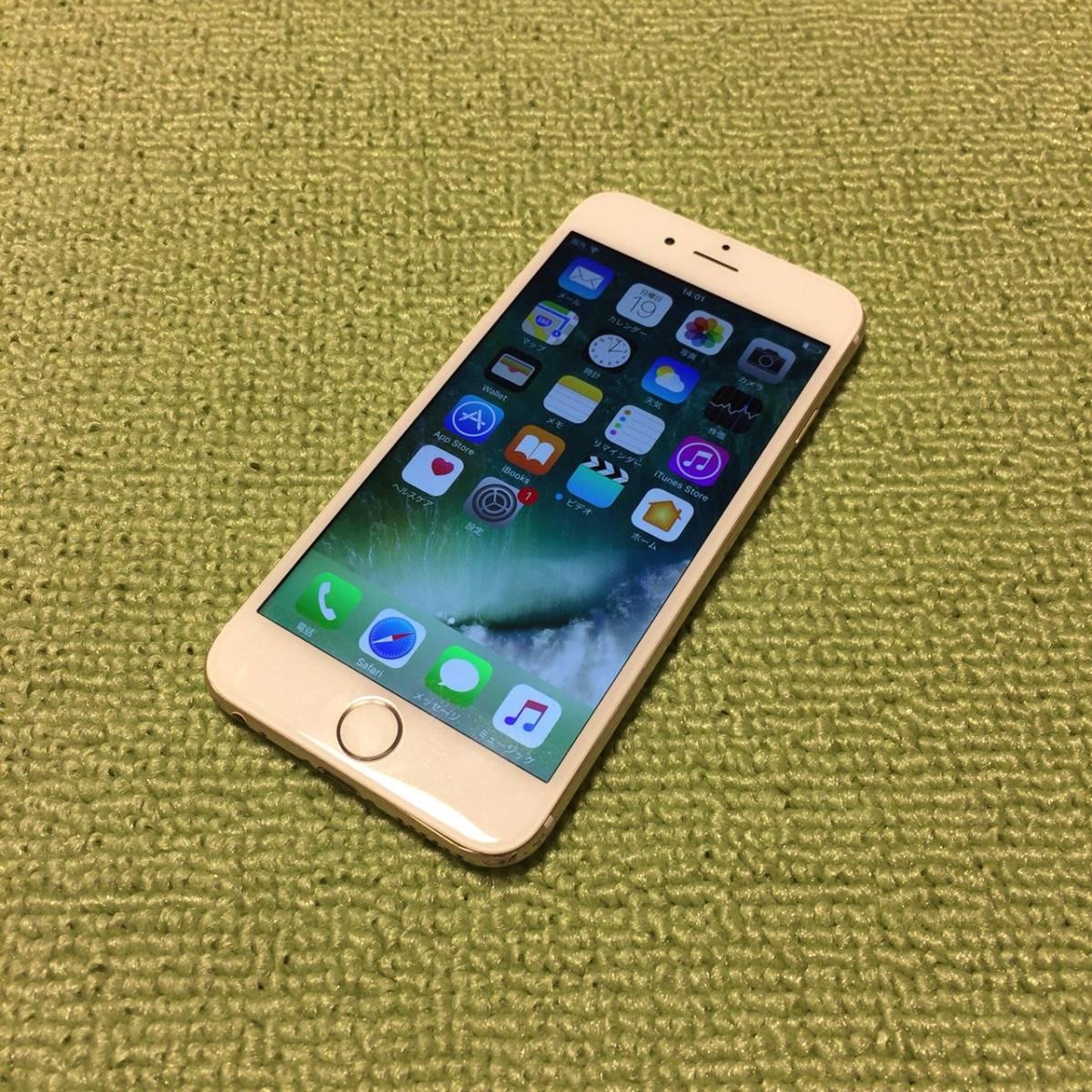 iPhone6 64GB ゴールド SoftBank 送料無料 初期化済