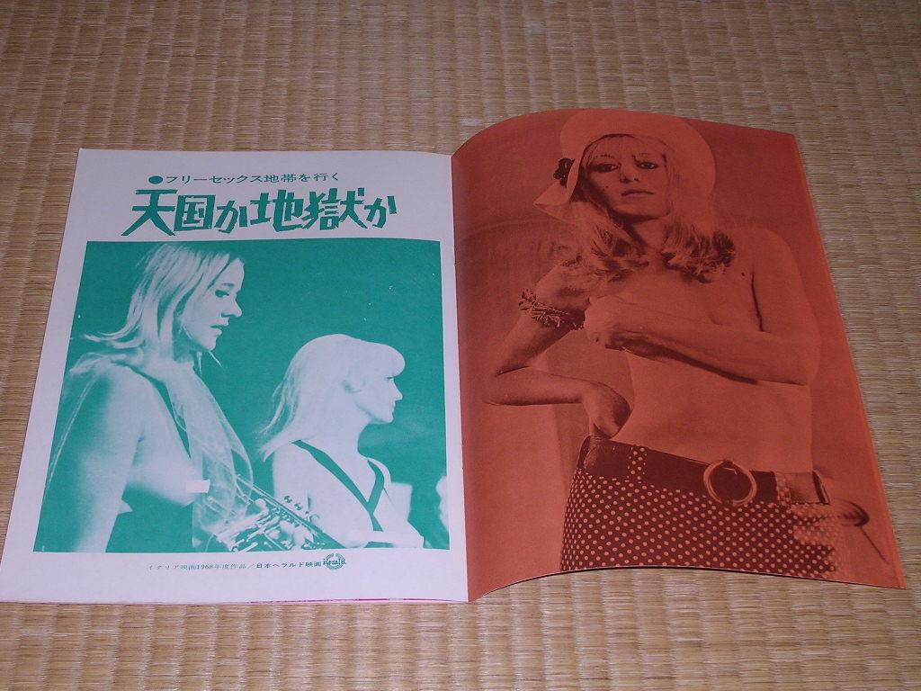 映画パンフ フリーセックス地帯を行く/天国か地獄か:初版1968年ルイジ・スカチーニ監督_画像3