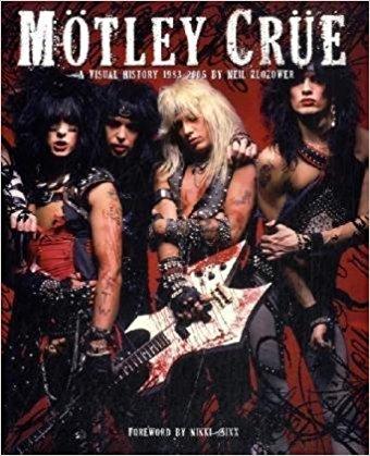 Motley Crue: A Visual History: 1983 - 2005 [モトリー・クルー] ハードカバー写真集 美品