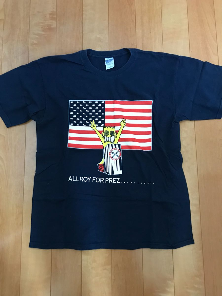 ALL Tシャツ descendents black flag circle jerks nofx cruz
