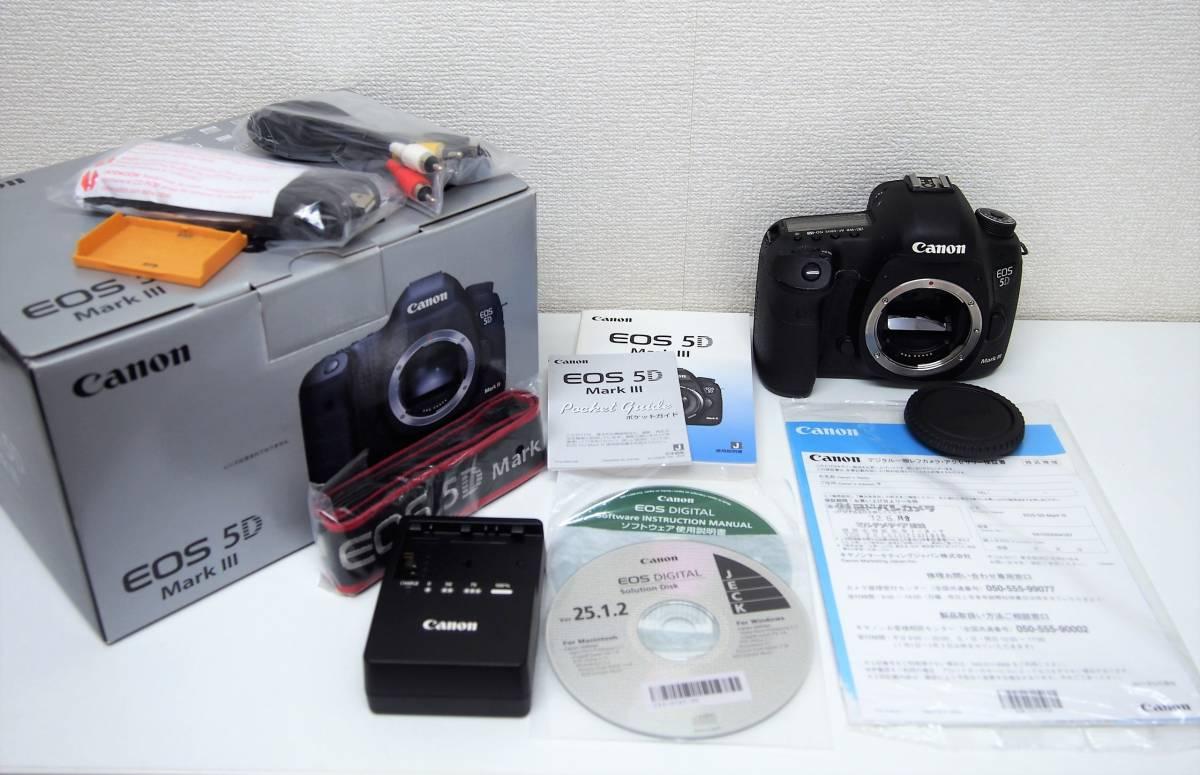 6★CANON EOS-5D Mark Ⅲ 3 キャノン イオス ボディ デジタル一眼レフカメラ 初期動作不良に限り返品可