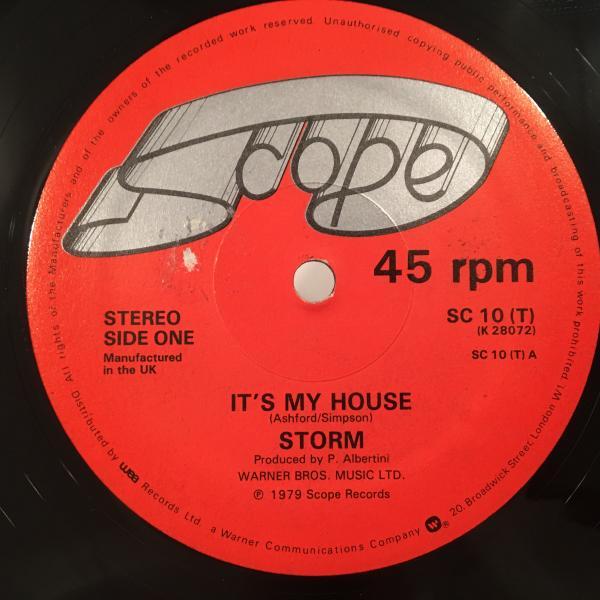 ★Storm/It's My House★人気ラバーズ!