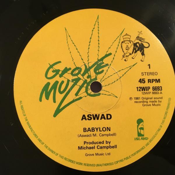 ★Aswad/Babylon - Behold★KILLER UK ROOTS!JAH SHAKA!_画像1