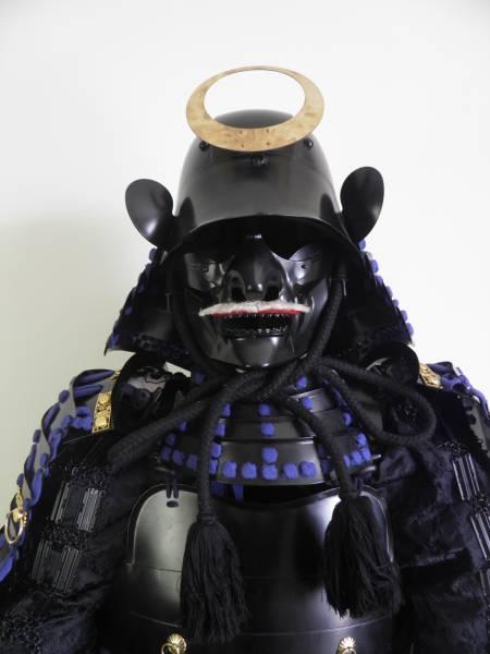 黒糸威二枚胴当世具足 甲冑 鎧兜 着用可能