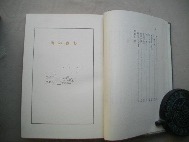 醉茗詩集 アルス版 河井醉茗  大正14年  函_画像4