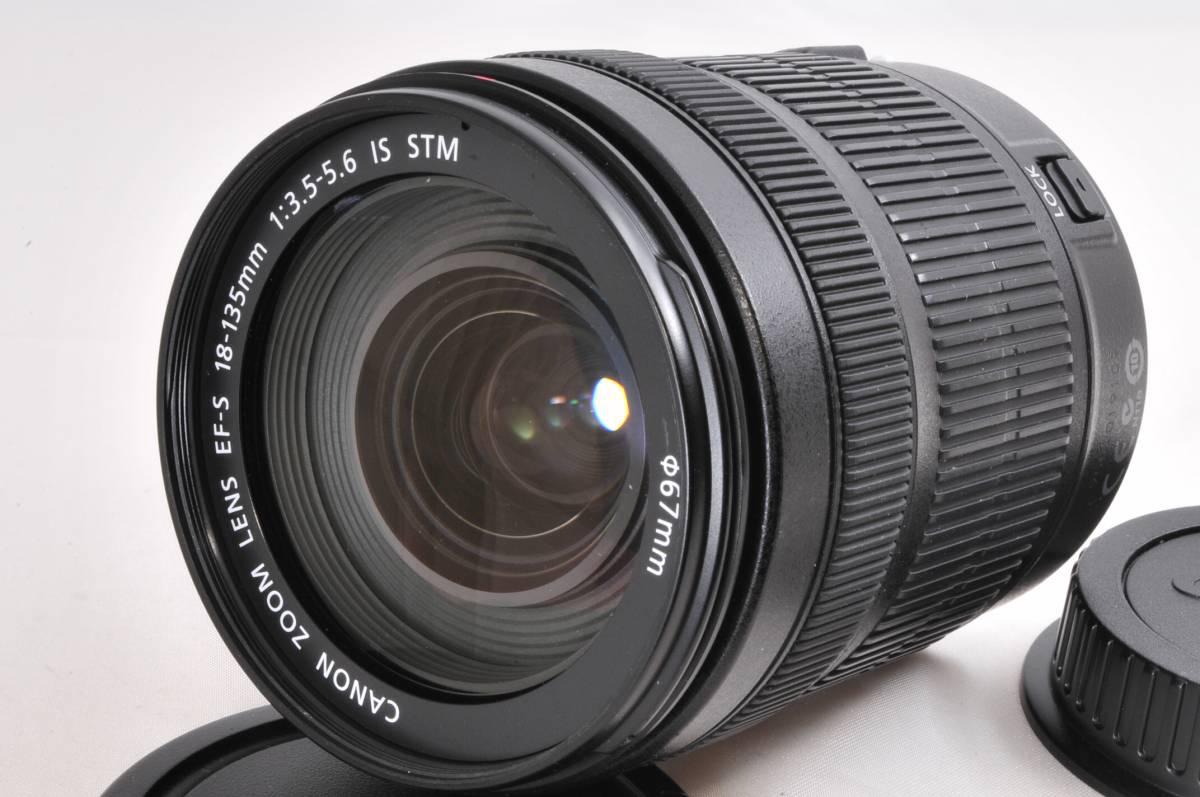 【極上美品】Canon キャノン EF-S 18-135mm F3.5-5.6 IS STM★