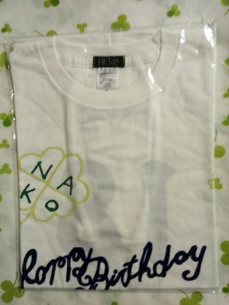 HKT48 矢吹奈子 2014生誕Tシャツ 新品 Lサイズ AKB48 送164円~ ライブ・総選挙グッズの画像