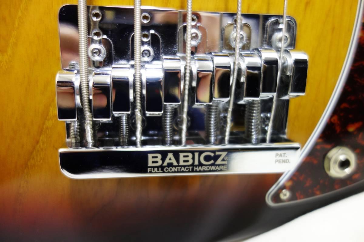 ★レア!Gibon 5弦ベース「EB Bass」 2013年製 純正HC付き 美品 K-1710_画像10