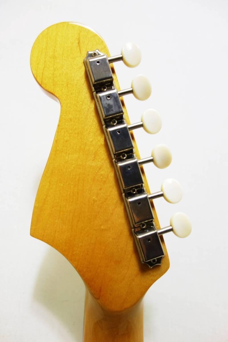 ★レア!Fender Acoustics FSR Malibu CE Mustang」Olympic White ムスタング50周年記念 J-1730_画像7