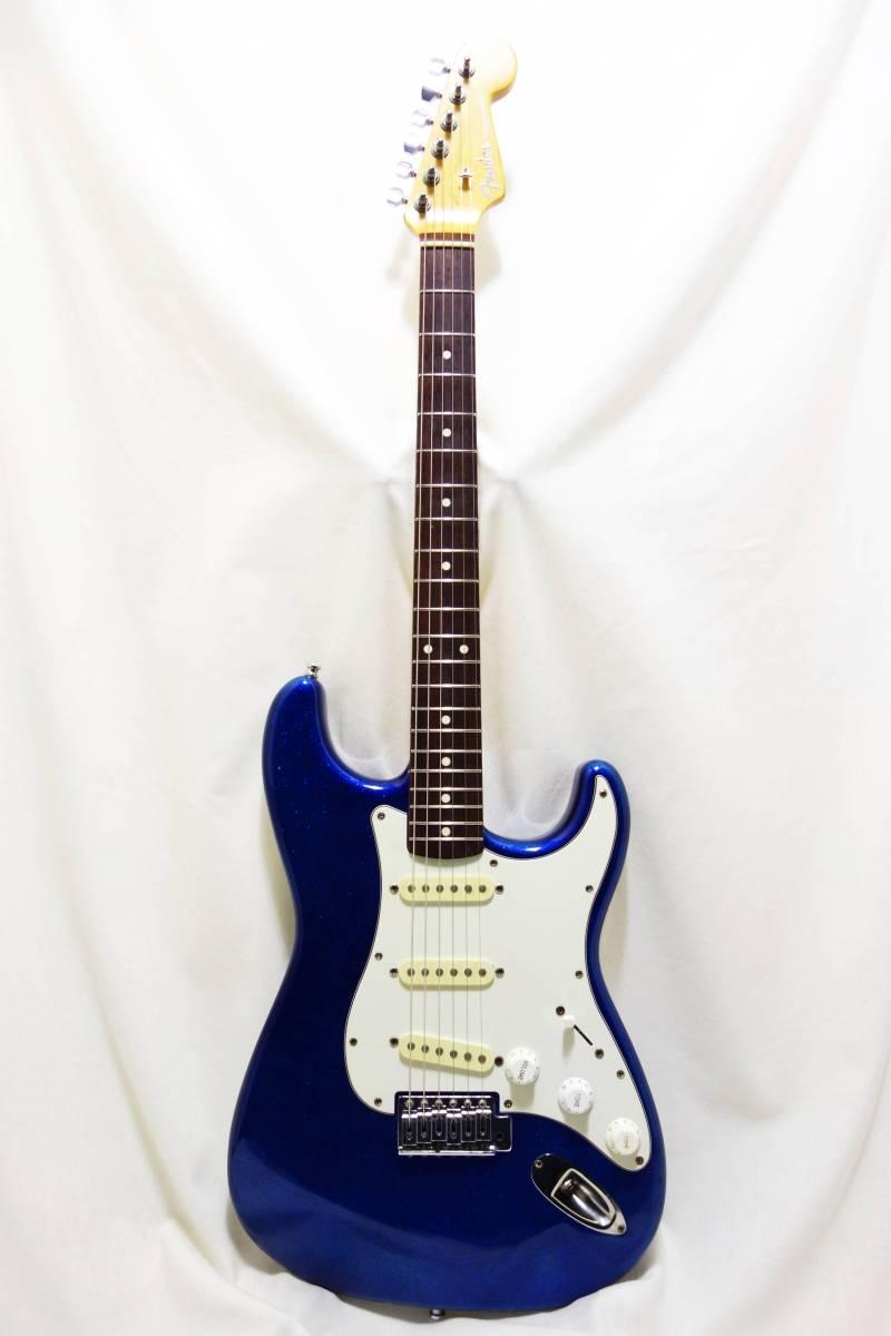 ★1円スタート売切り!レア!Fender Japan ストラト「STR-65SP」ブルースパークル J-1732_画像2