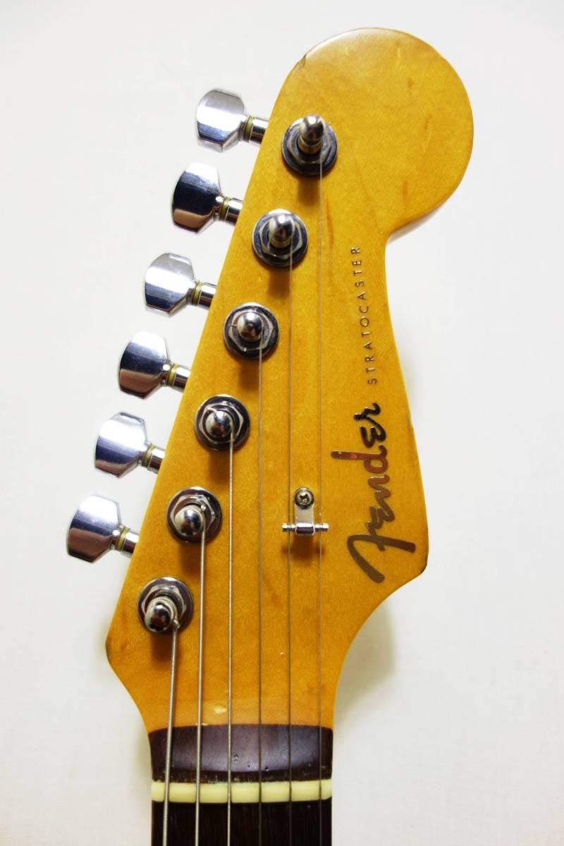 ★1円スタート売切り!レア!Fender Japan ストラト「STR-65SP」ブルースパークル J-1732_画像3