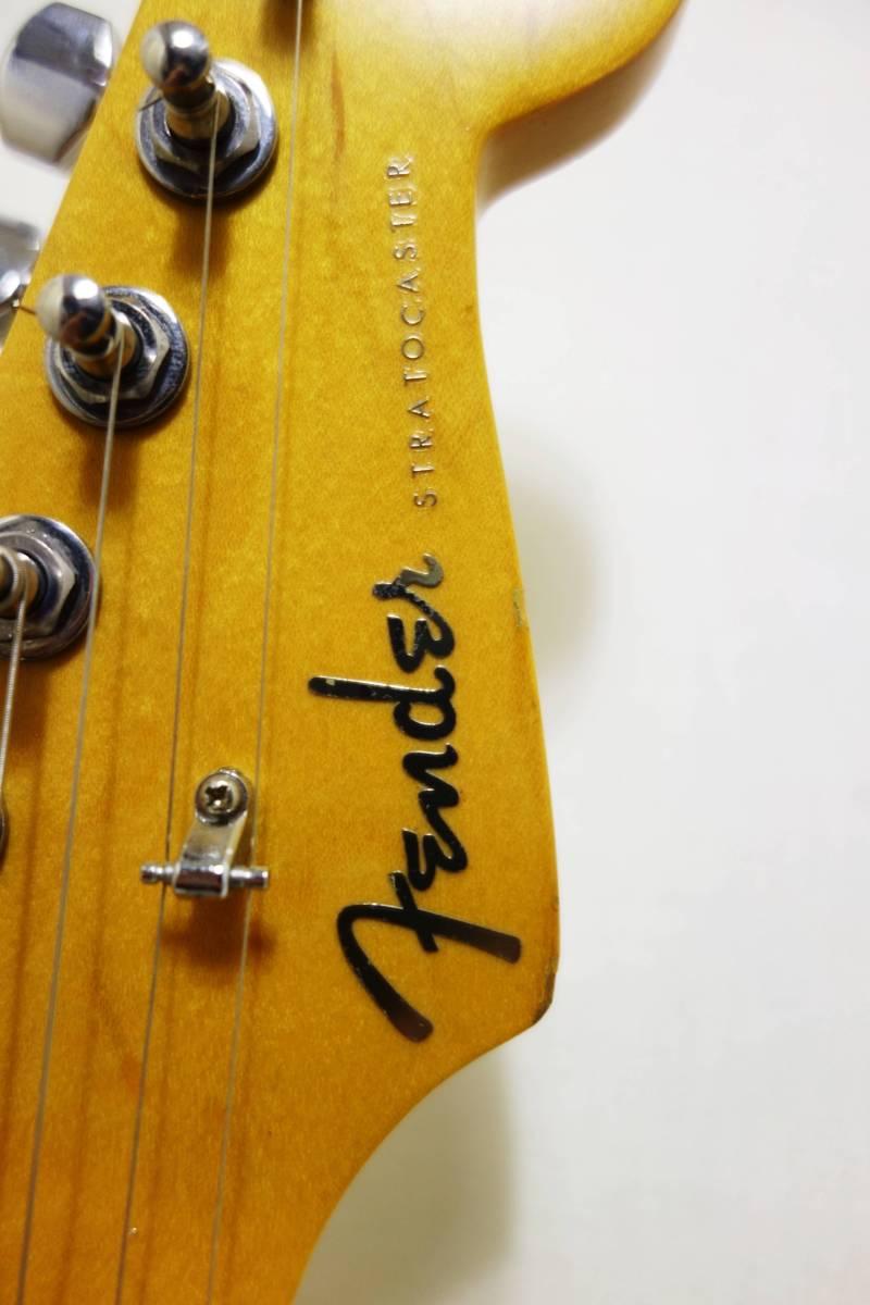 ★1円スタート売切り!レア!Fender Japan ストラト「STR-65SP」ブルースパークル J-1732_画像4