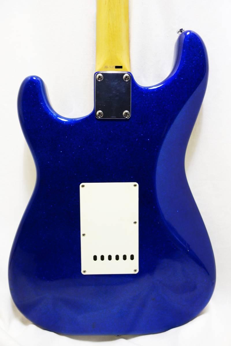 ★1円スタート売切り!レア!Fender Japan ストラト「STR-65SP」ブルースパークル J-1732_画像5