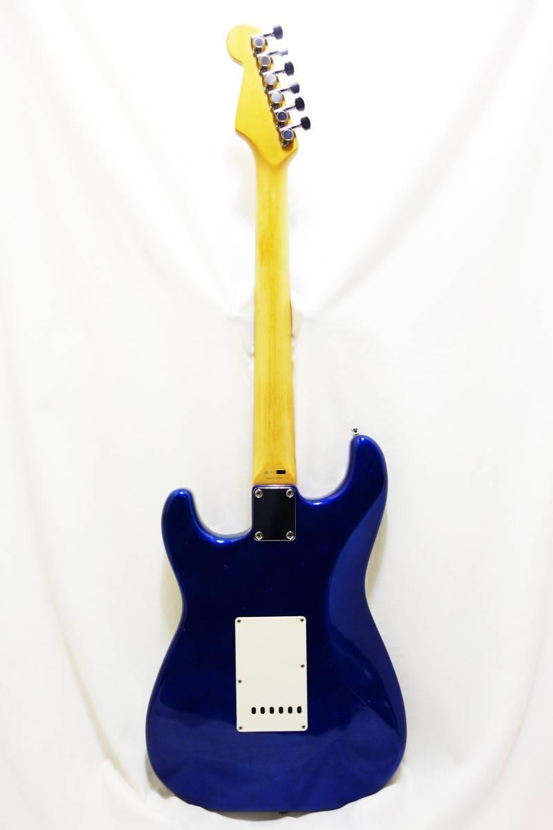★1円スタート売切り!レア!Fender Japan ストラト「STR-65SP」ブルースパークル J-1732_画像6