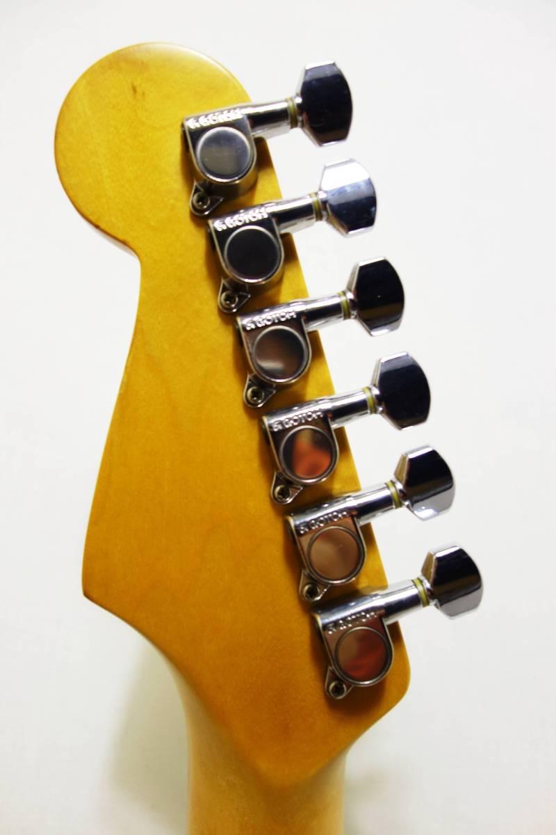 ★1円スタート売切り!レア!Fender Japan ストラト「STR-65SP」ブルースパークル J-1732_画像7
