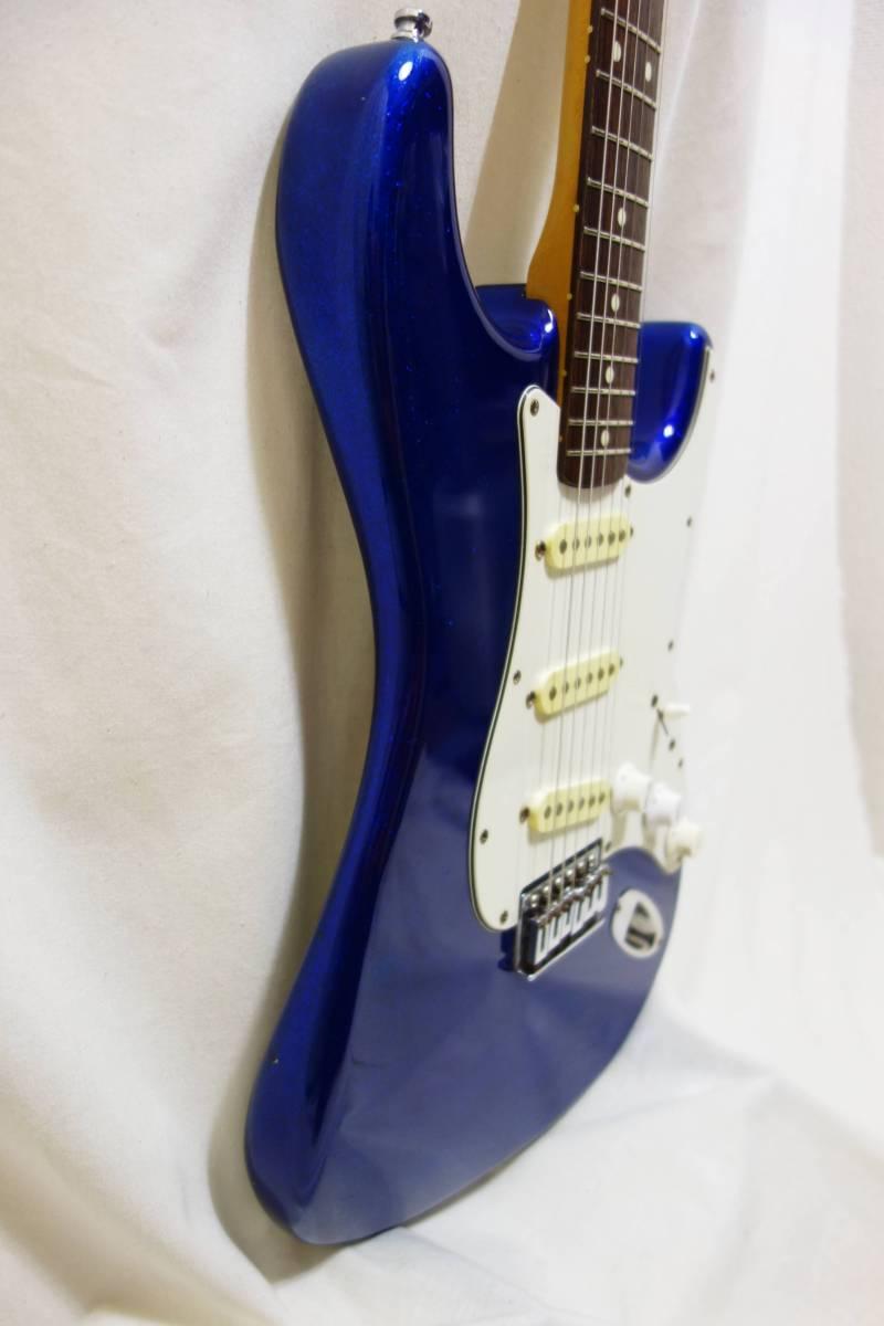 ★1円スタート売切り!レア!Fender Japan ストラト「STR-65SP」ブルースパークル J-1732_画像8