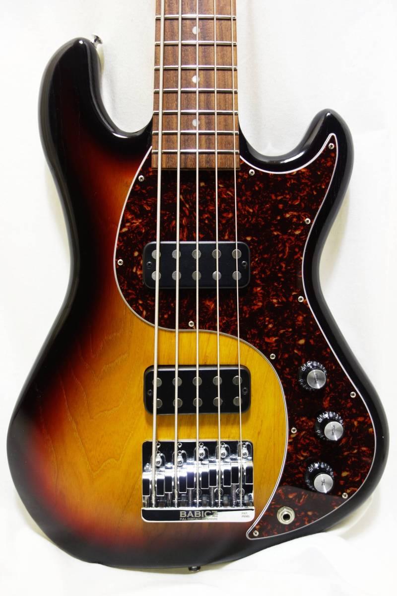 ★レア!Gibon 5弦ベース「EB Bass」 2013年製 純正HC付き 美品 K-1710_画像2