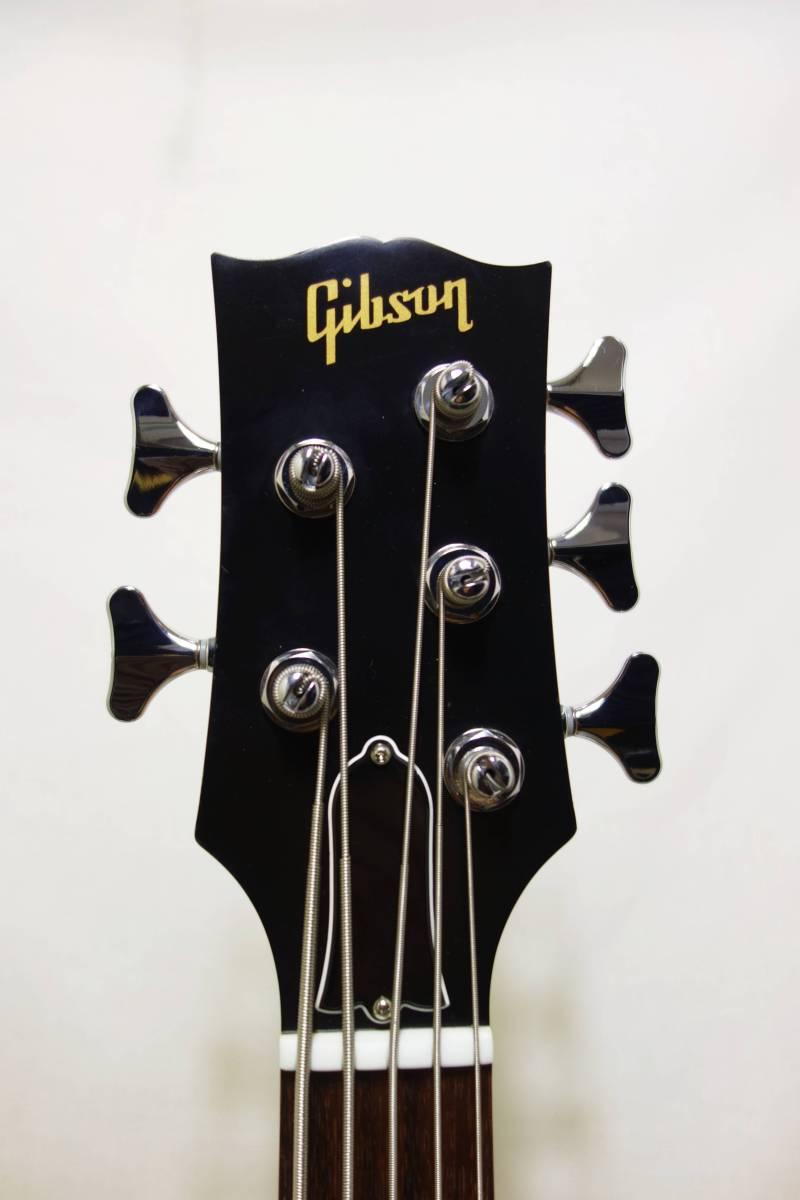 ★レア!Gibon 5弦ベース「EB Bass」 2013年製 純正HC付き 美品 K-1710_画像4