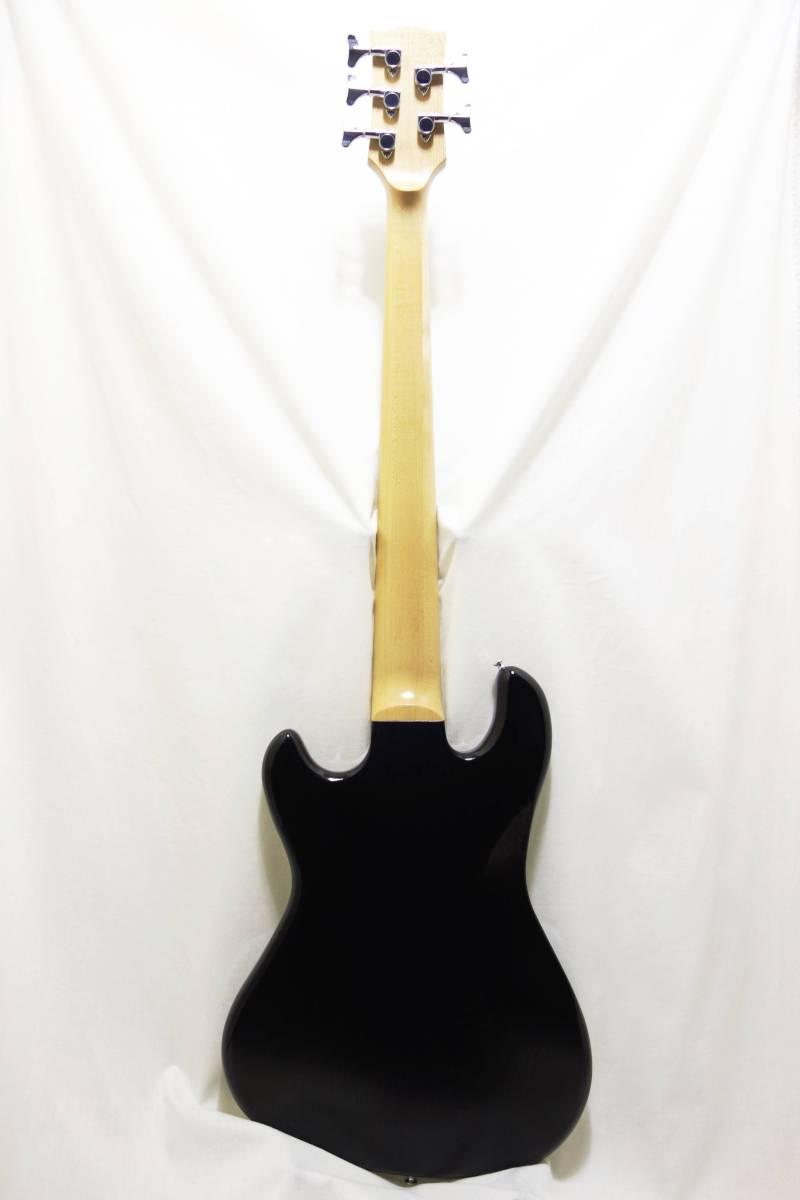 ★レア!Gibon 5弦ベース「EB Bass」 2013年製 純正HC付き 美品 K-1710_画像6