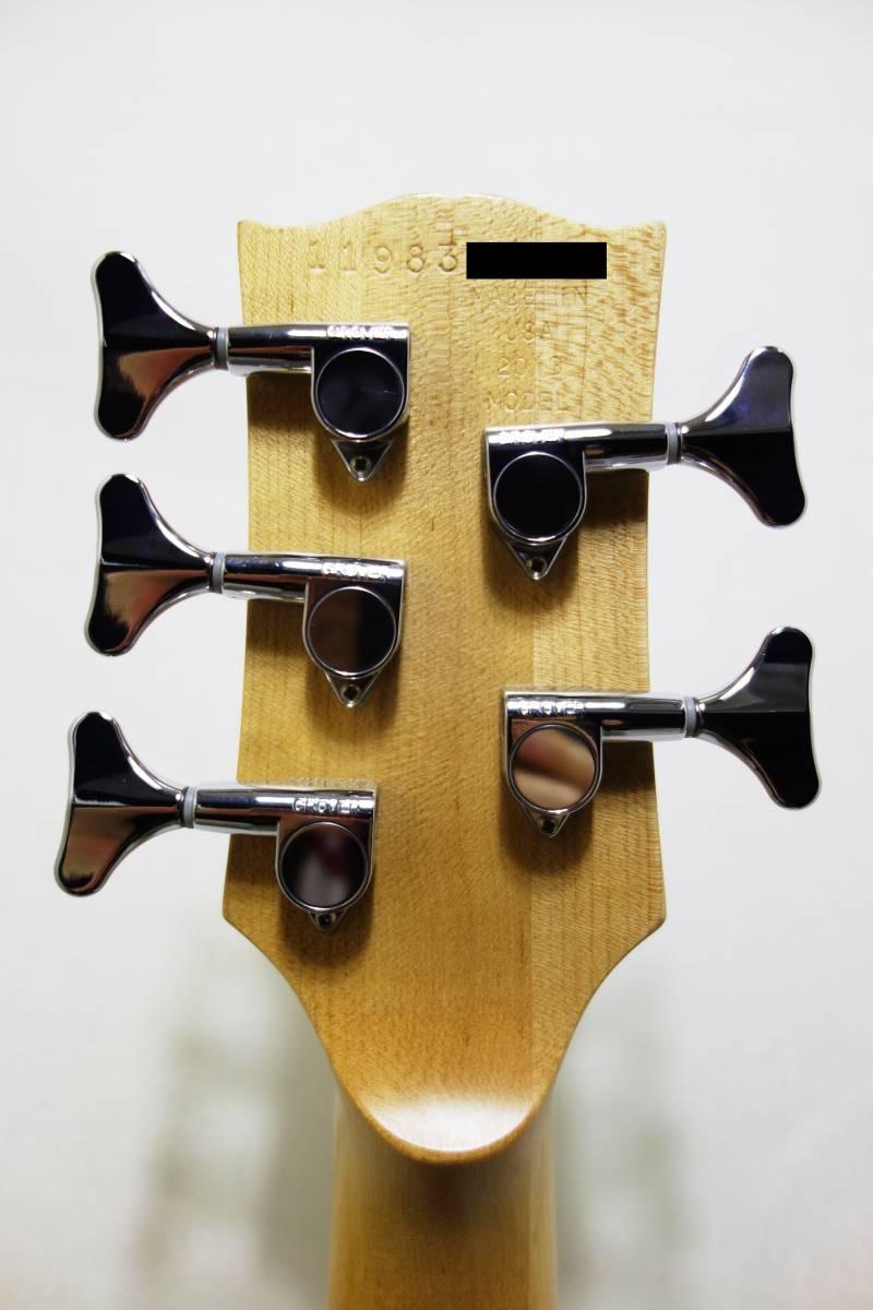 ★レア!Gibon 5弦ベース「EB Bass」 2013年製 純正HC付き 美品 K-1710_画像7