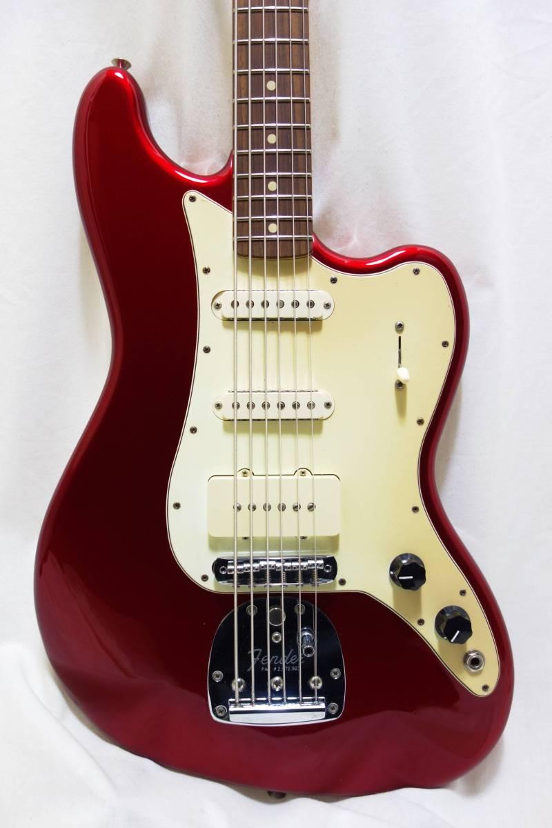 ★レア!Fender Pawn Shop Bass VI バリトン キャンディアップルレッド 生産終了品モデル 美品 H-1702
