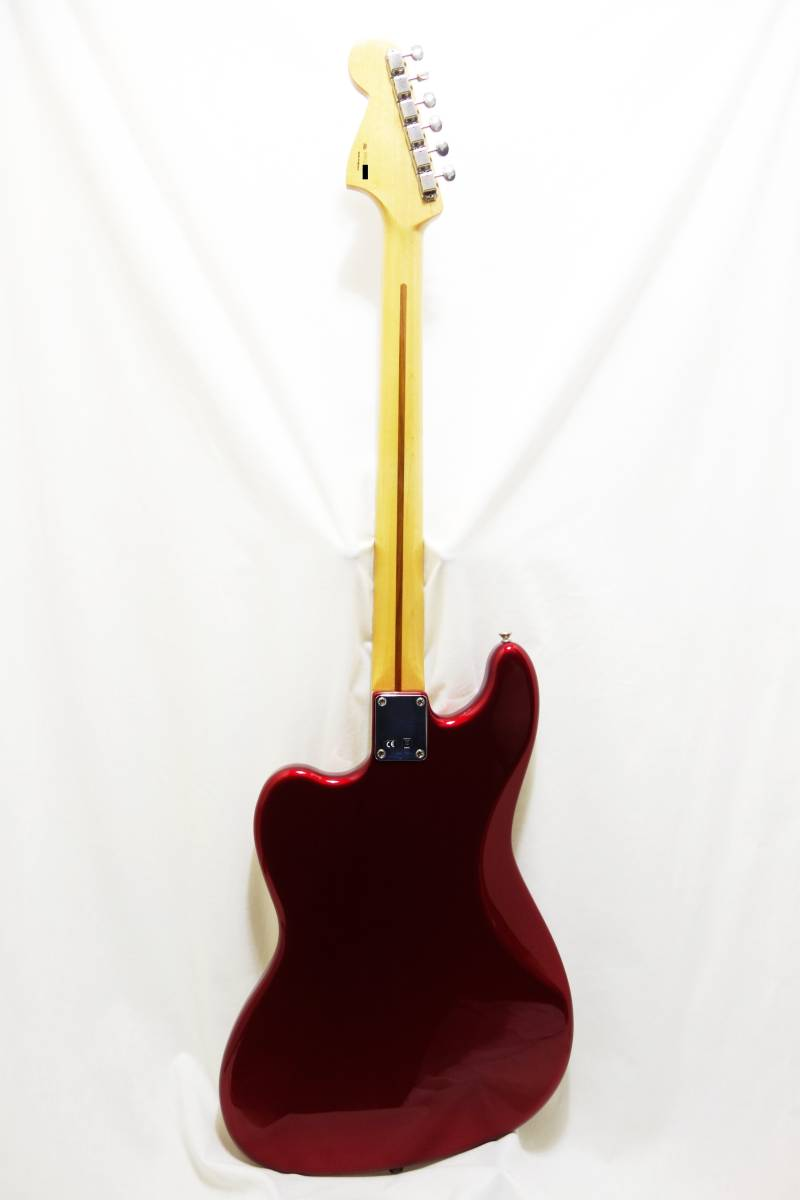 ★レア!Fender Pawn Shop Bass VI バリトン キャンディアップルレッド 生産終了品モデル 美品 H-1702_画像5