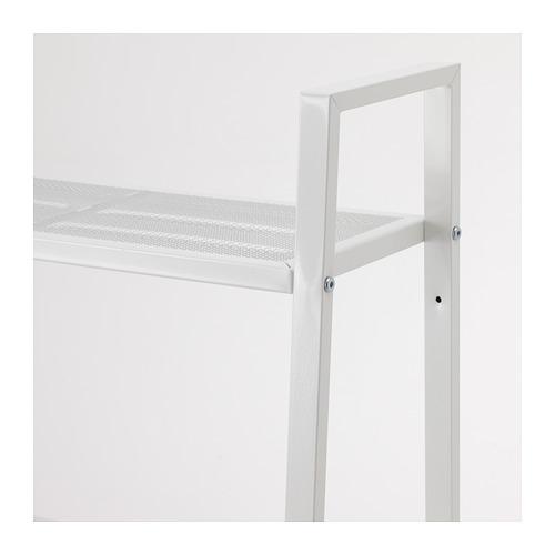 ☆ IKEA イケア ☆ LERBERG シェルフユニット, ホワイト モダン おしゃれ 飾り棚 小物 フィギュア <60x148 cm>u ☆_画像2