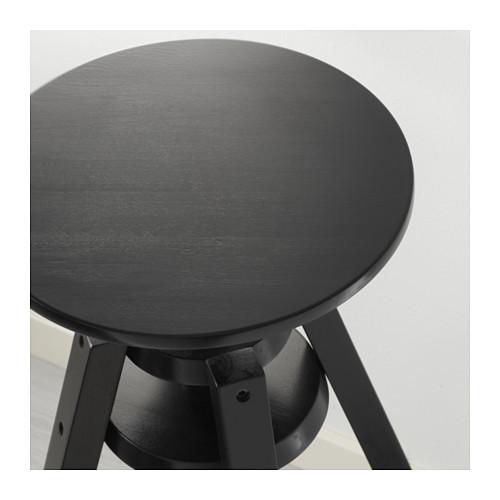 ☆ IKEA イケア ☆ DALFRED バースツール, ブラック <63-74 cm> u ☆_画像6