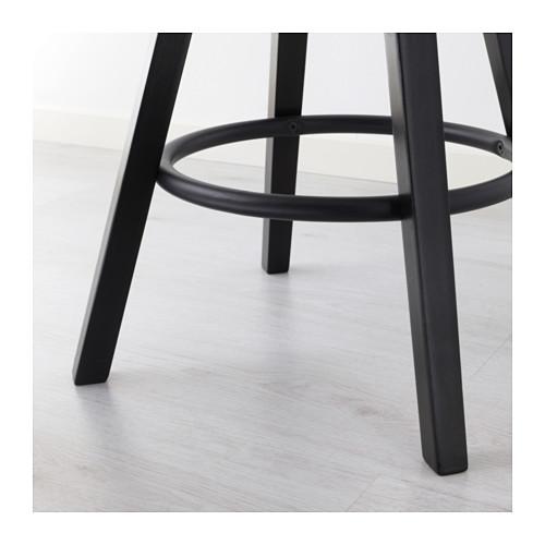 ☆ IKEA イケア ☆ DALFRED バースツール, ブラック <63-74 cm> u ☆_画像7
