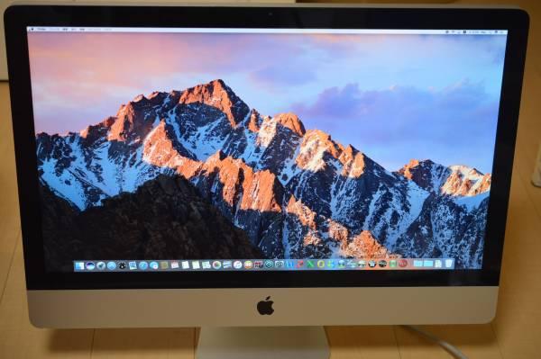 【クリエイター用Waves最強プラグイン&バンドル】iMac Mid2011/27/SSD525GB/32GB/Win10/A