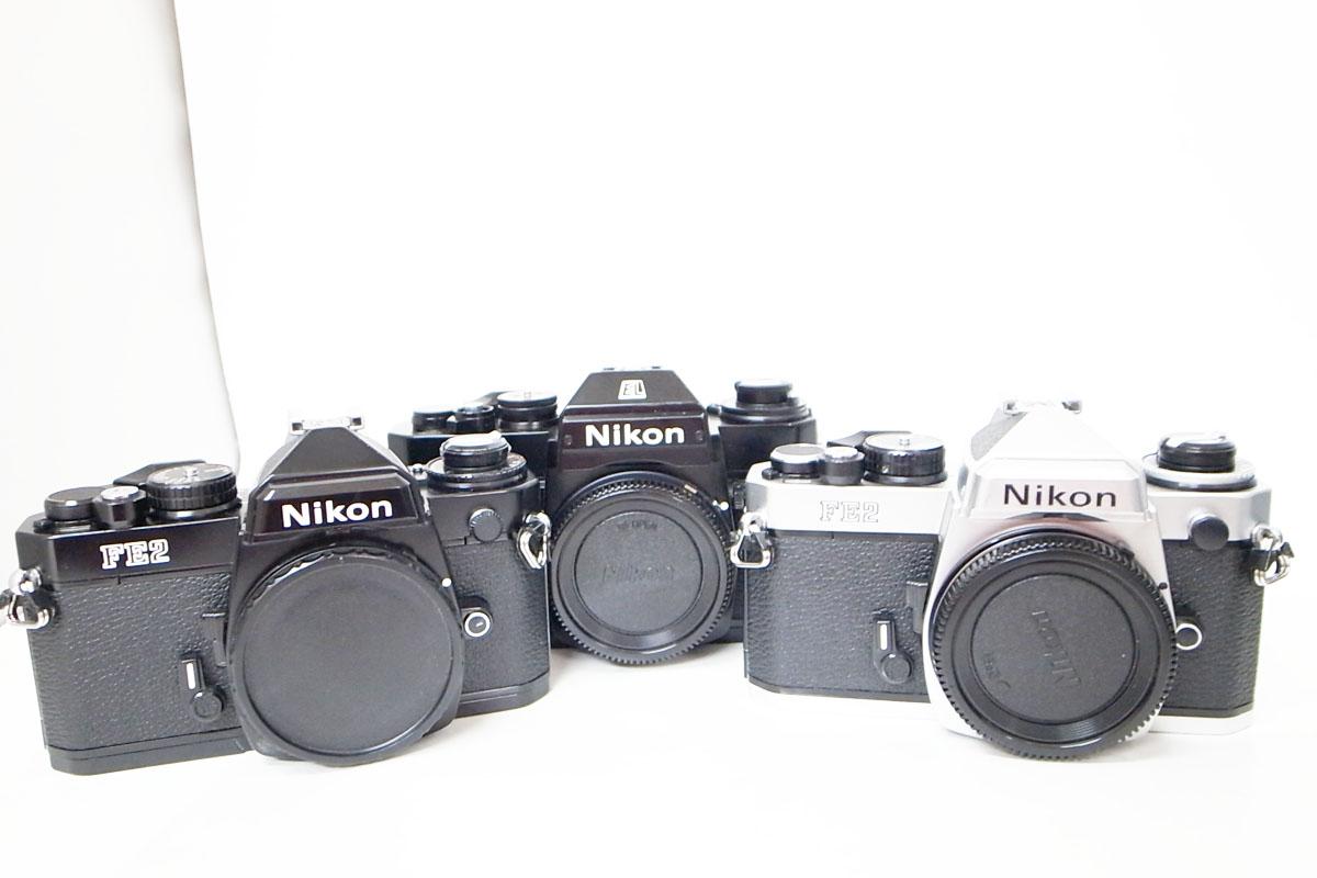 Nikon/ニコン FM2 FE2 EL2 Nikomat AF NIKKOR 28-105㎜ ボディ レンズ おまとめ7点 h_画像2