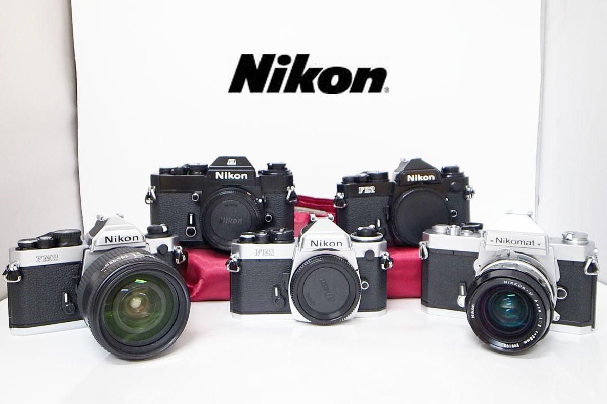 Nikon/ニコン FM2 FE2 EL2 Nikomat AF NIKKOR 28-105㎜ ボディ レンズ おまとめ7点 h