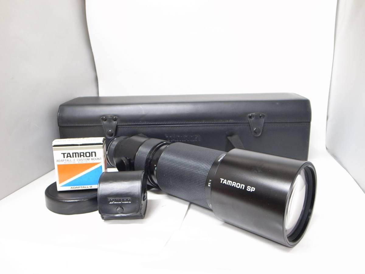 タムロン/TAMRON SP 200-500㎜ 1:5.6 BBAR MC ケース 付属品 4点セット i