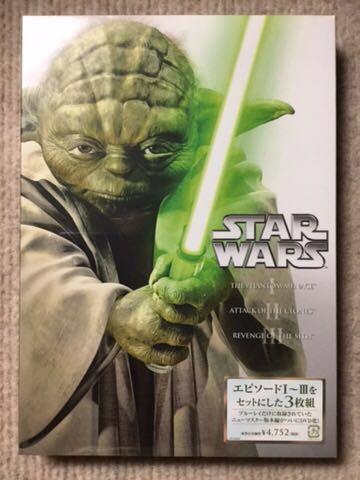 新品 未開封 スター・ウォーズ プリクエル・トリロジー DVD-BOX 3枚組《初回生産限定》 ディズニーグッズの画像