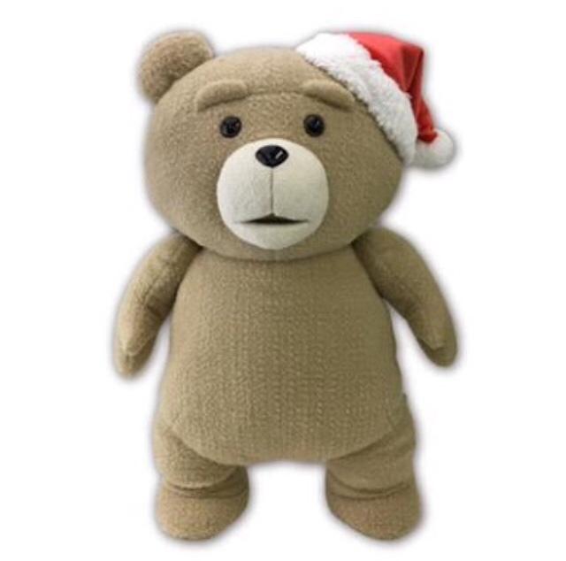 ted2 クリスマスぬいぐるみ XL プレミアム 新品未開封 即決 グッズの画像