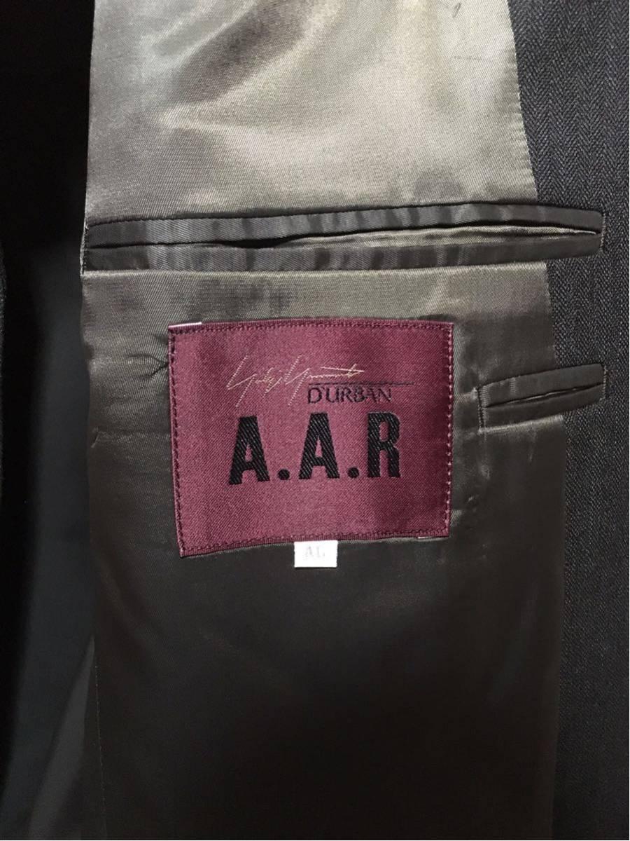 yohji yamamoto セットアップ チャコールグレー AL A.A.R DURBAN スーツ_画像3