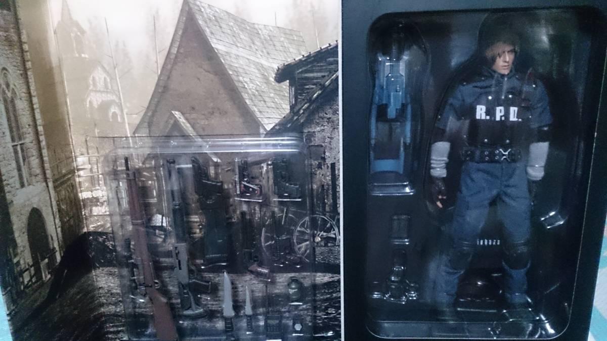 【未開封】バイオハザード resident evil biohazard LEON S. KENNEDY R.P.D. Version フィギュア ホットトイズ エンジン Hot Toys_画像3