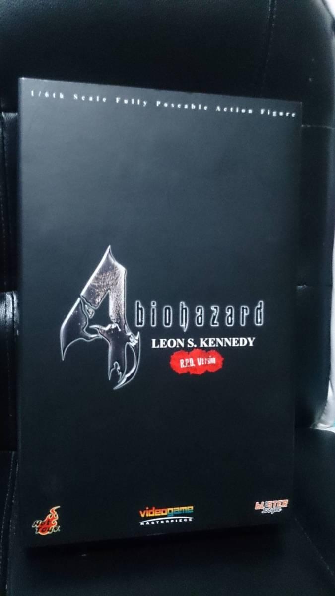 【未開封】バイオハザード resident evil biohazard LEON S. KENNEDY R.P.D. Version フィギュア ホットトイズ エンジン Hot Toys_画像2