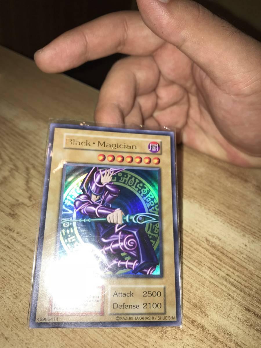 Vジャンプ 1000枚限定 英語版ブラックマジシャン black maqician ウルトラレア 未使用品