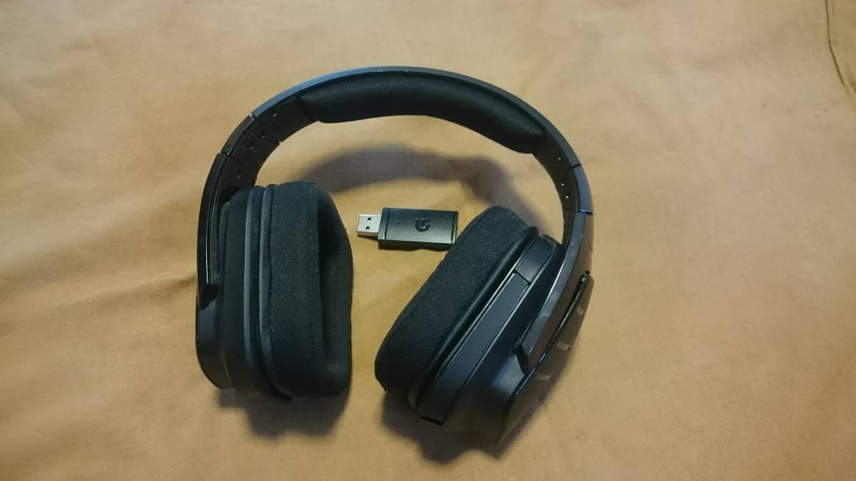 [中古] Logicool ロジクール G933 ワイヤレス サラウンド ゲーミング ヘッドセット