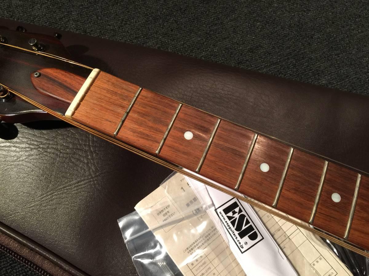 ESP Banboo Inn-C Produced by Char フォークタイプ No.111017_画像4