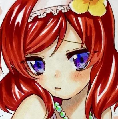 【ラブライブ】西木野真姫 水着【同人手描きイラスト】 グッズの画像