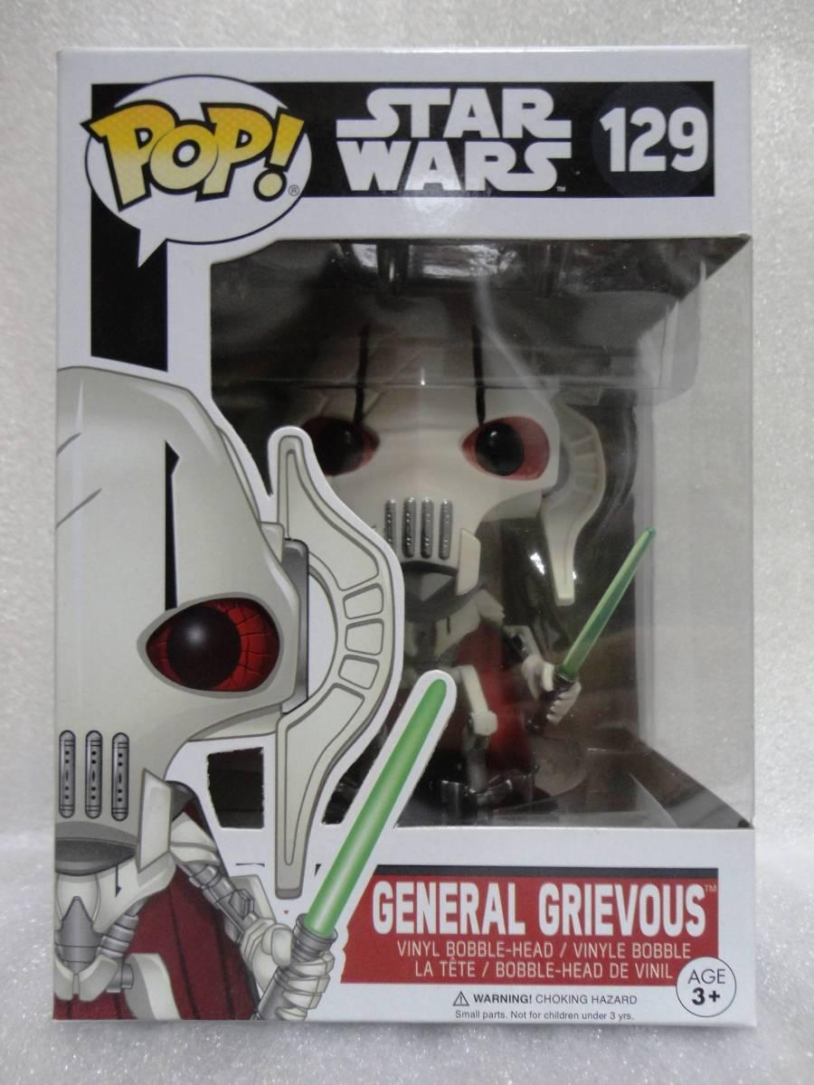 送料無料 Funko POP! グリーヴァス 将軍 General Grievous スターウォーズ 海外限定 グッズの画像