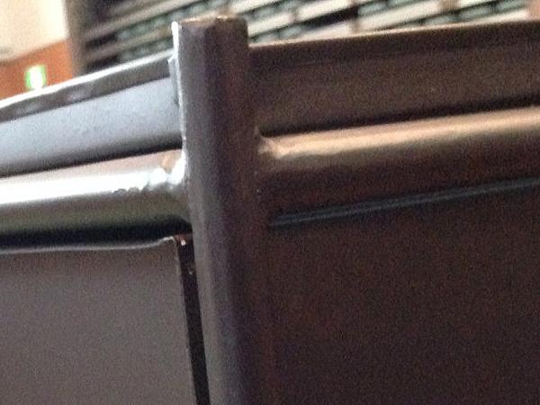 送料無料 2段 スチールチェスト インダストリアル 棚 ラック カフェ 男前インテリア 小物入れ シャビー 西海岸 ブルックリン 収納_画像4