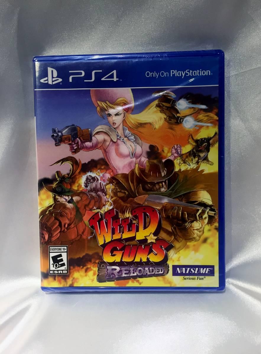 PS4 WILD GUNS RELOADED ワイルドガンズ リローデッド 海外版 日本未発売 国内発送 新品